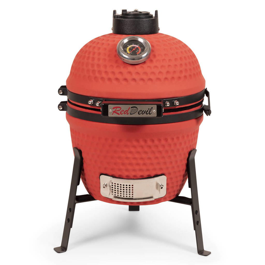 """Patton Kamado Red Devil grill classic (13""""), Rood"""