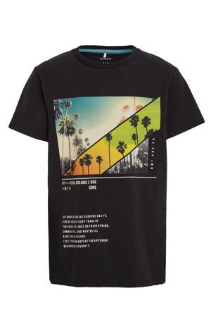 T-shirt Haben met biologisch katoen zwart