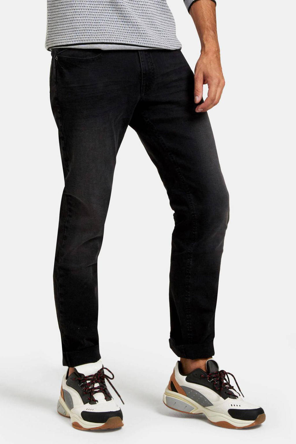 Shoeby Refill straight fit jeans Lewis BLACK DENIM, Black denim