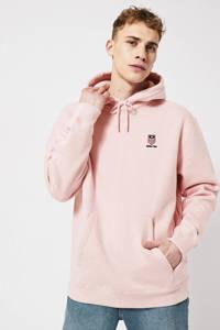 America Today hoodie Silas met logo light pink, Light Pink