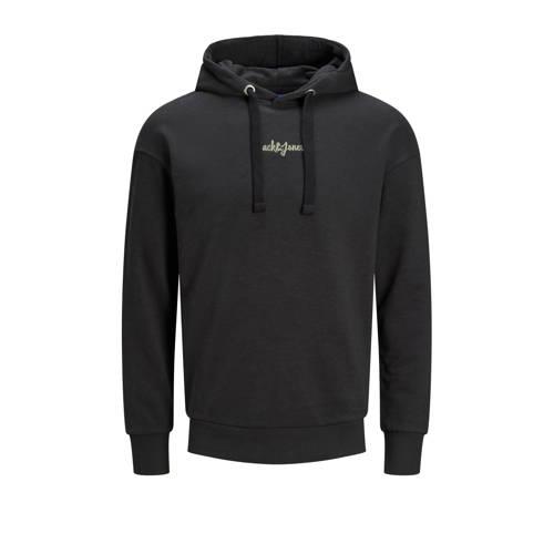 JACK & JONES ORIGINALS hoodie Stockholm zwart