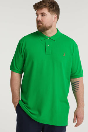 +size regular fit polo Plus Size groen