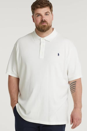 +size regular fit polo Plus Size wit
