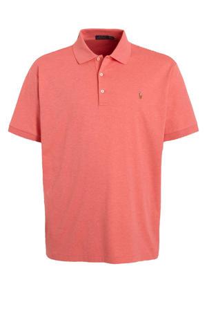 +size regular fit polo Plus Size roze