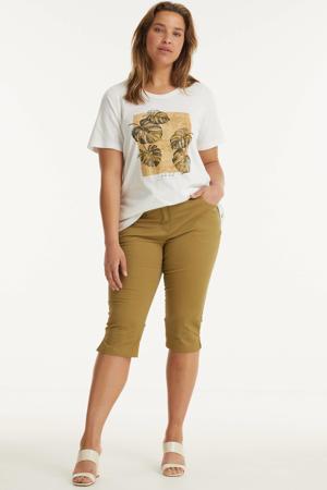 T-shirt AILI 804 van biologisch katoen wit