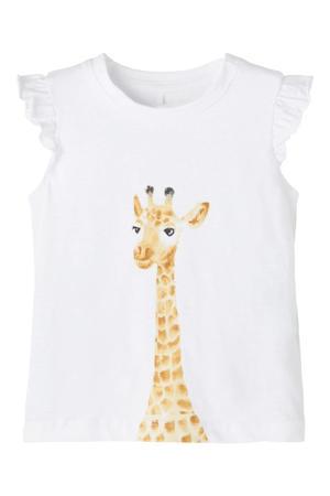 baby T-shirt Jennifer met biologisch katoen wit