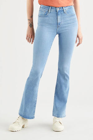 725 HIGH RISE BOOTCUT high waist flared jeans stonewashed
