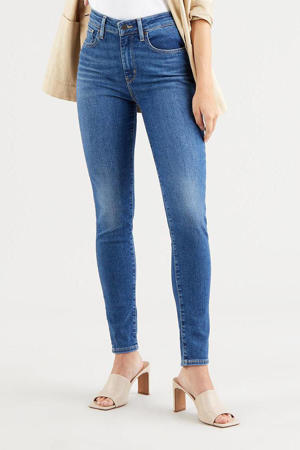 721 HIGH RISE SKINNY high waist skinny jeans stonewashed