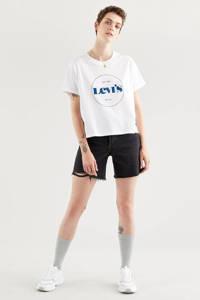 Levi's T-shirt GRAPHIC VARSITY TEE met logo wit, Wit