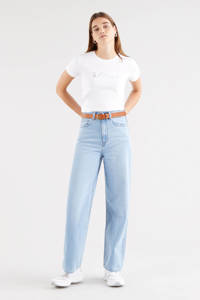 Levi's T-shirt THE PERFECT TEE met logo wit, Wit