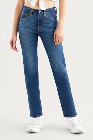 501 CROP high waist straight fit jeans charleston outlasted