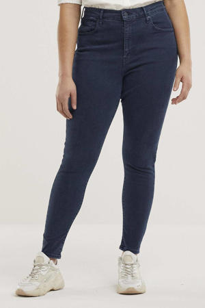 PLUS MILE HIGH SS super skinny jeans bruised heart