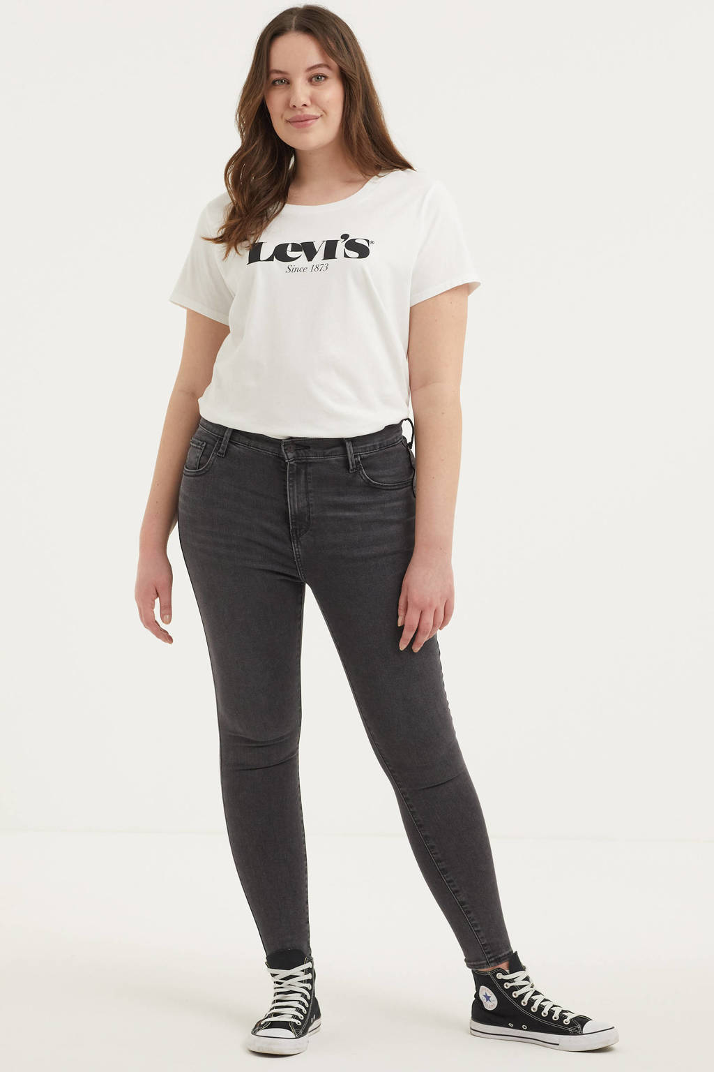 Levi's Plus 720 high waist super skinny jeans smoked out plus, SMOKED OUT PLUS