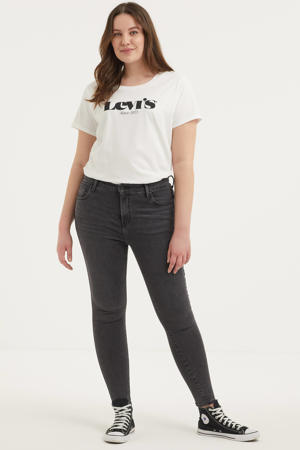 720 high waist super skinny jeans smoked out plus
