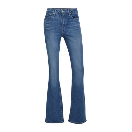 Levi's 725 HIGH RISE BOOTCUT high waist flared jeans stonewashed