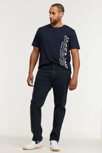 Wrangler straight fit jeans Greensboro iron blue, Iron Blue
