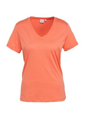 T-shirt met biologisch katoen roze