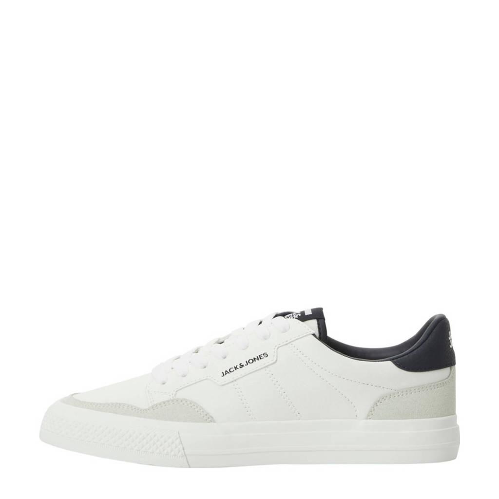 JACK & JONES Morden  sneakers wit, Wit/donkerblauw