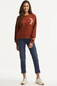Scotch & Soda sweater met biologisch katoen bruin, Bruin
