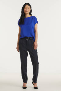 Scotch & Soda tapered fit broek donkerblauw, Donkerblauw