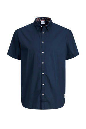 regular fit overhemd Charlie Plus Size donkerblauw