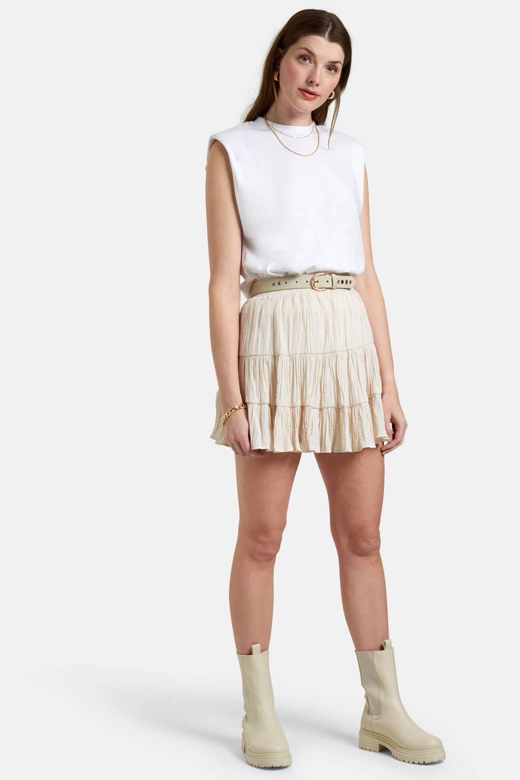 Eksept by Shoeby top wit, Wit