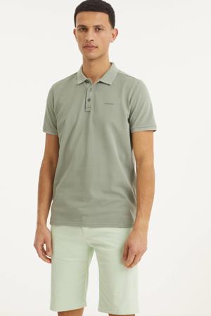 regular fit bermuda smooth green