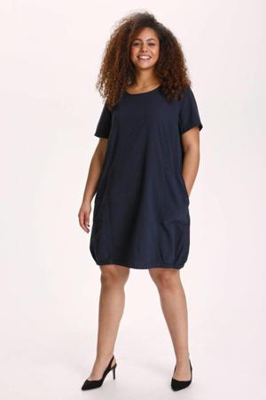 jurk KCnana donkerblauw