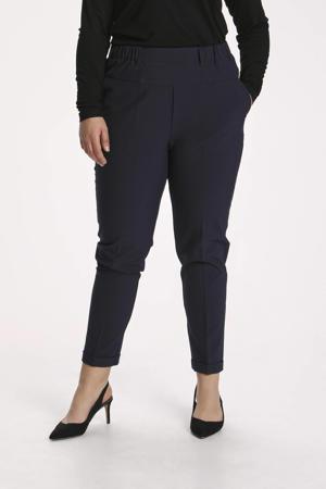 cropped slim fit broek KCnaja donkerblauw