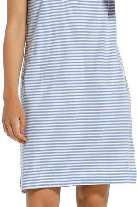 Pastunette nachthemd lichtblauw, Lichtblauw
