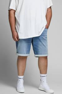JACK & JONES PLUS SIZE regular fit jeans short Rick Plus Size blue denim, Blue denim