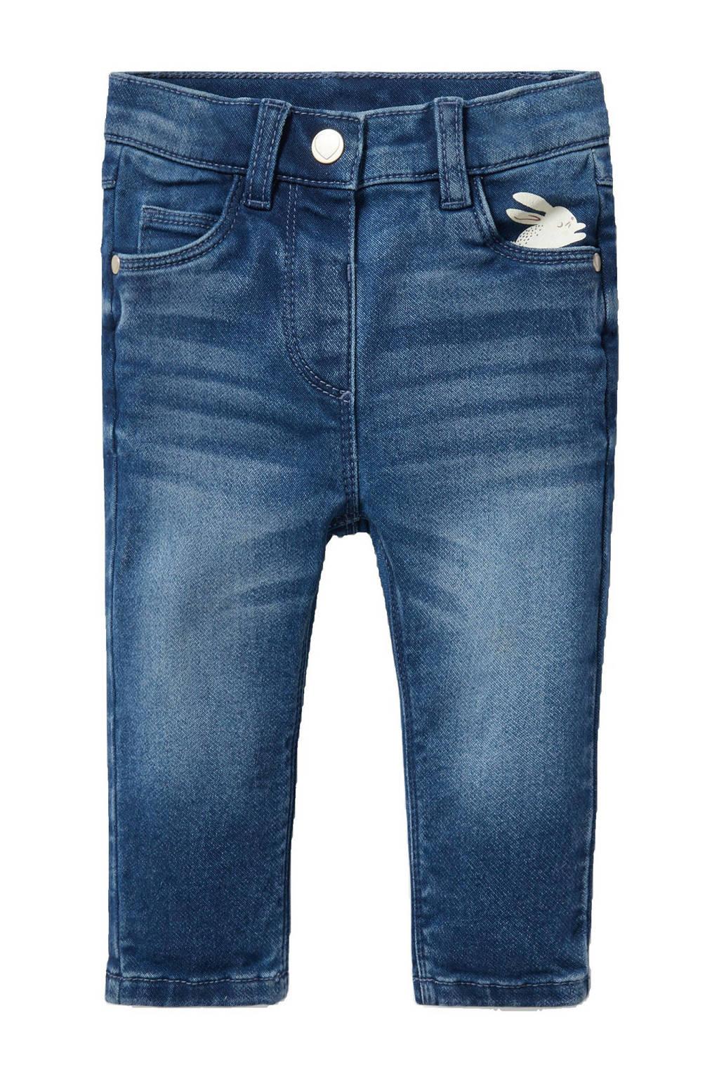 C&A Baby Club slim fit jeans blauw, Blauw