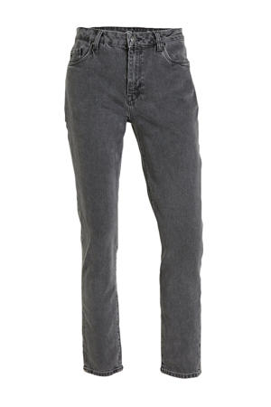 straight fit jeans antraciet