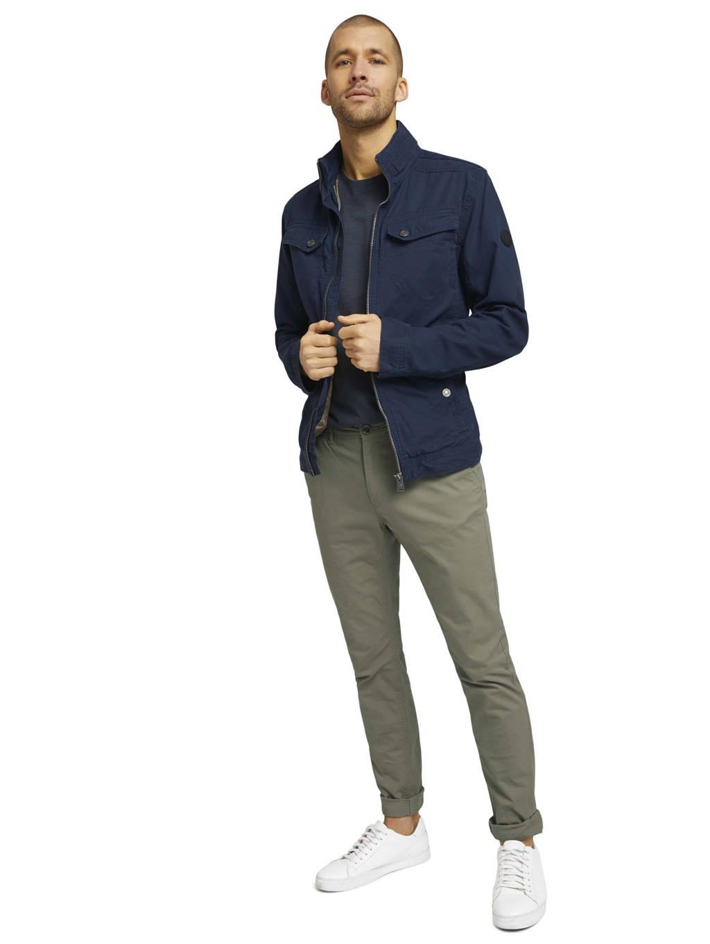 Tom Tailor T-shirt donkerblauw, Donkerblauw