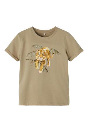 T-shirt Jacob met biologisch katoen beige