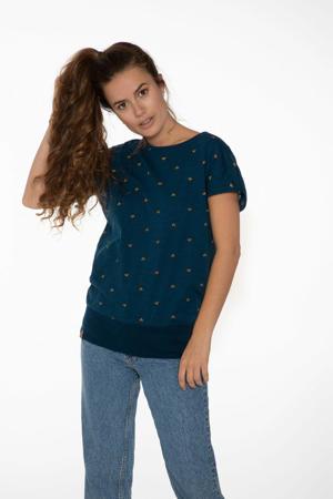 T-shirt Aphrodism blauw