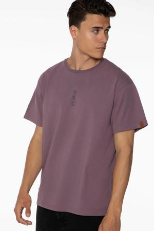 T-shirt Pennal paars