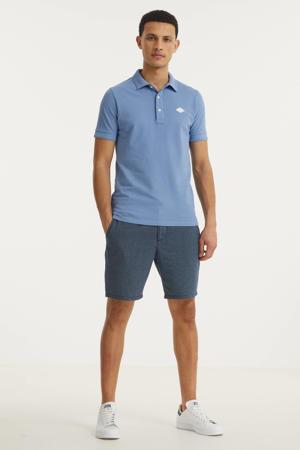 regular fit polo lichtblauw