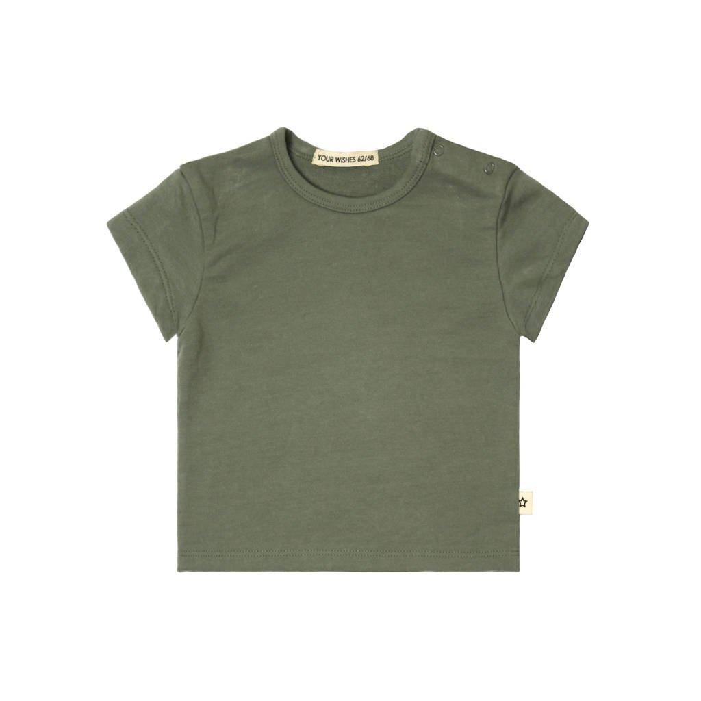 Your Wishes T-shirt groen, Groen