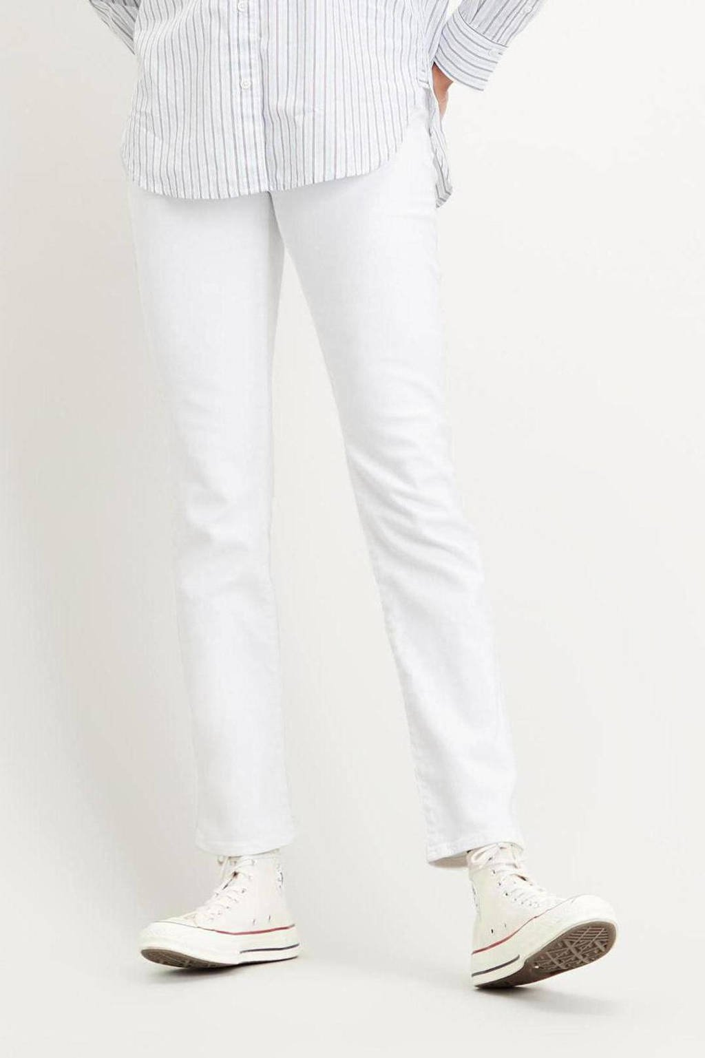 Levi's 724  high waist straight fit jeans western white, WESTERN WHITE