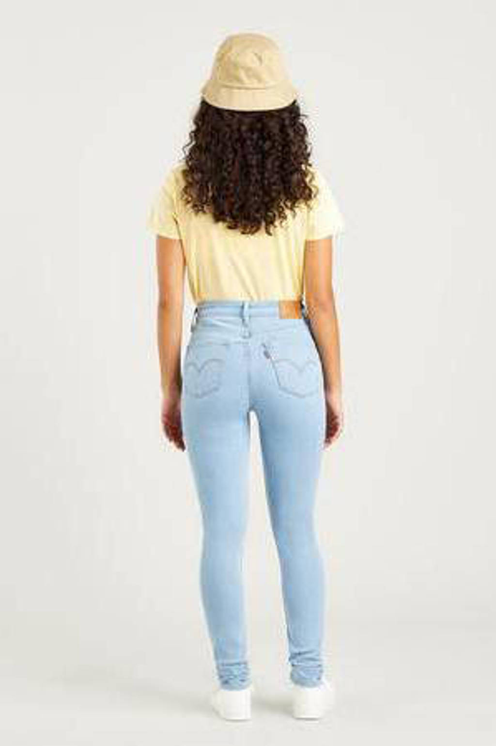 Levi's 721 HIGH RISE SKINNY high waist skinny jeans stonewashed, RIO LUMINARY