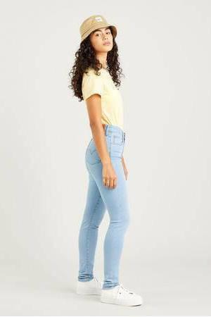 721 HIGH RISE SKINNY high waist skinny jeans stonewashed