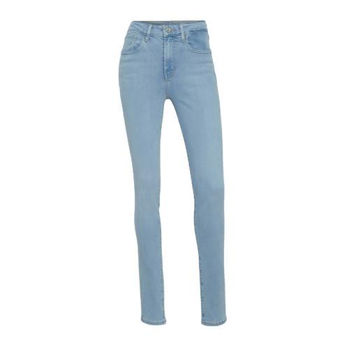 Levi's 721 HIGH RISE SKINNY high waist skinny jeans stonewashed