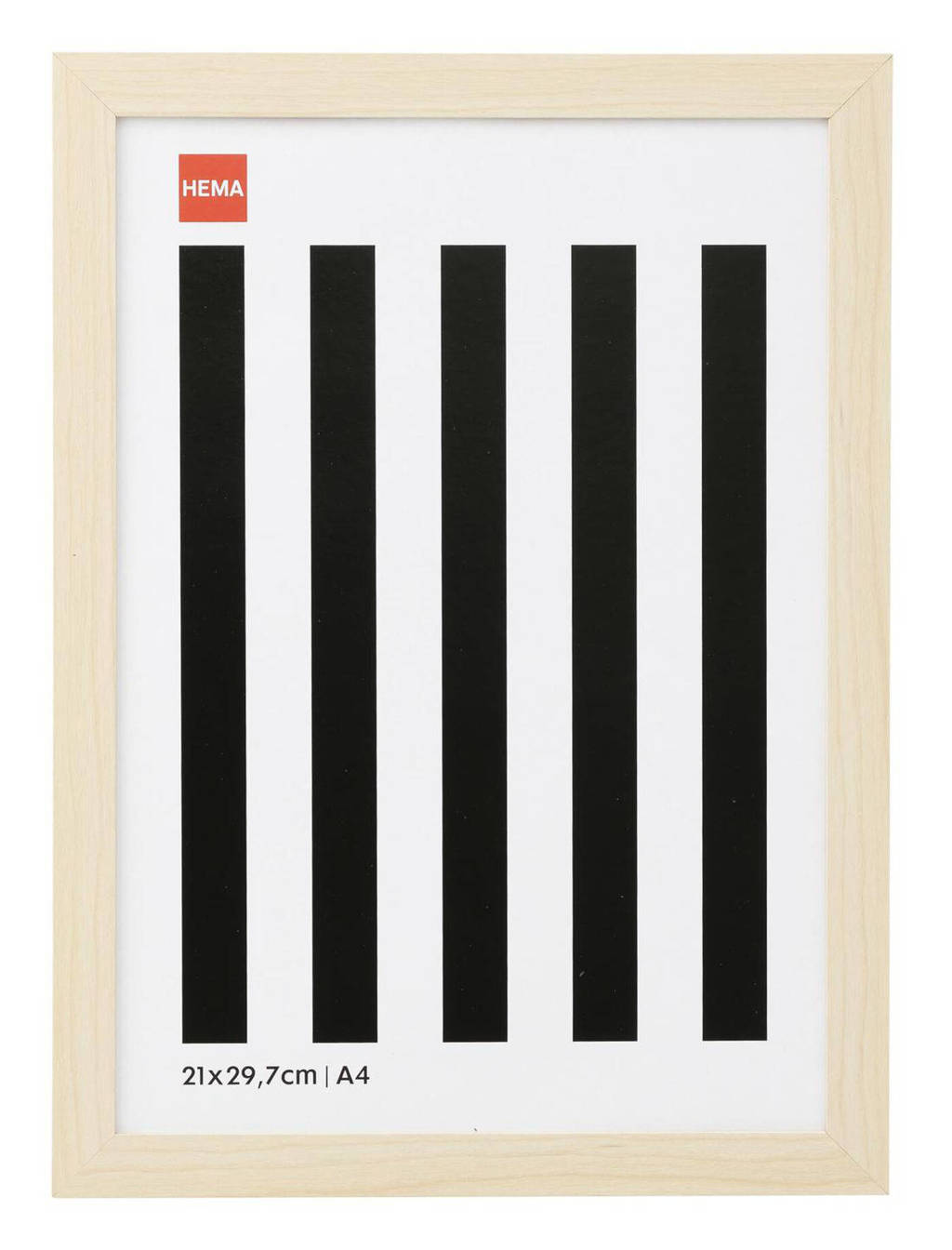 HEMA fotolijst A4  (24x32,5 cm), Bruin