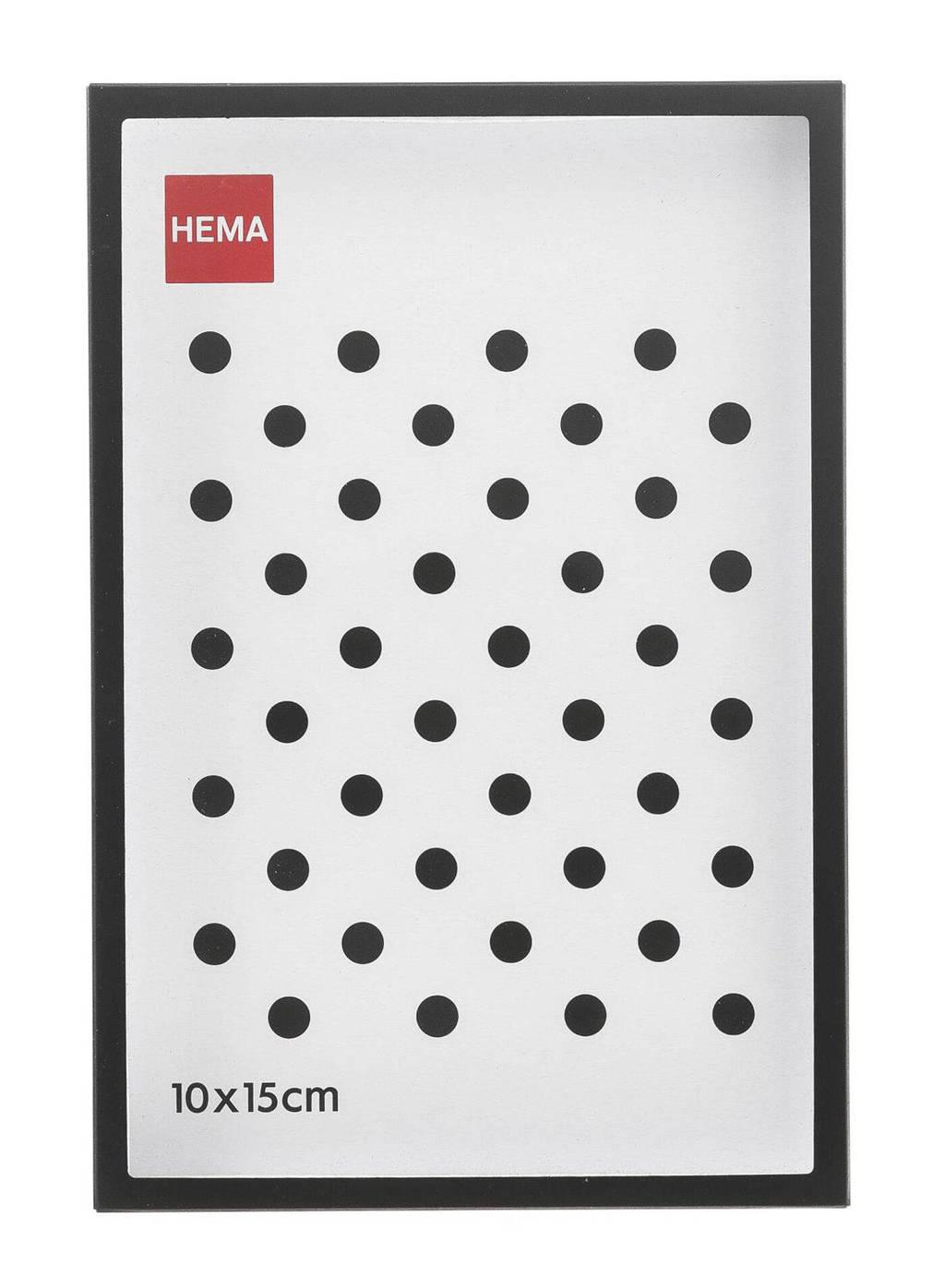 HEMA fotolijst  (10x15 cm), Zwart