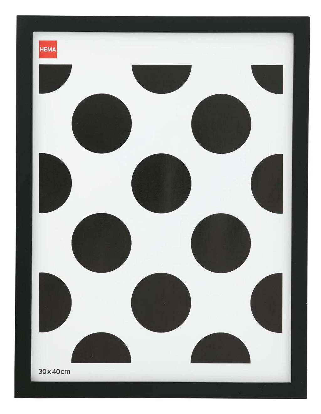 HEMA fotolijst  (30x40 cm), Zwart
