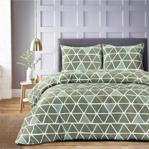 polyester-katoenen dekbedovertrek lits-jumeaux