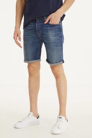 regular fit short rinsed blue