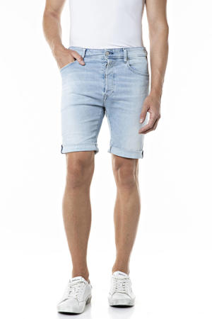 slim fit jeans short light blue