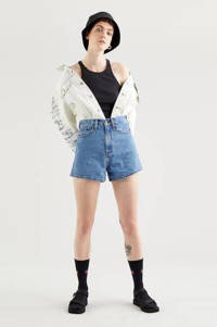 Levi's HIGH LOOSE SHORT high waist jeans short supa dupa fly, NUMBER ONE